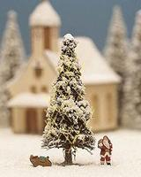 Noch White Christmas Miniature Scene HO Scale Model Railroad Figure #11912