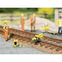 Noch Rail Works Set HO Scale Model Railroad Trackside Accessory #13640