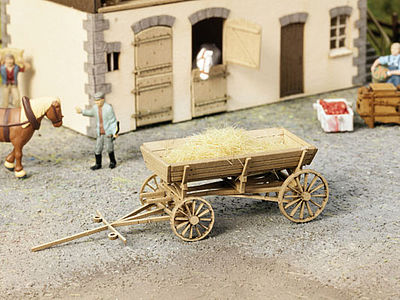Noch GMBH & Co. Carriage/Wagon Kit -- HO Scale Model Railroad Vehicle -- #14242