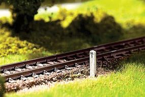 Noch Stone/Concrete Mileposts (20 Pack) HO Scale Model Railroad Accessory #14300