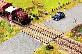 Noch Wood Plank Grade Crossing Kit HO Scale Model Railroad Accessory #14305