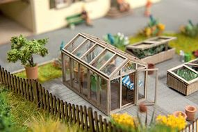 Noch Cardstock Residential Model Railroad Buildings