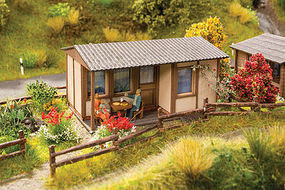 Noch Garden Plot Shed Kit HO Scale Model Railroad Building #14360