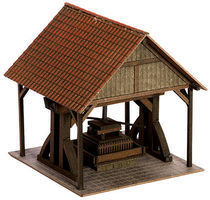 Noch Wine Press w/Canopy Kit HO Scale Model Railroad Accessory #14370