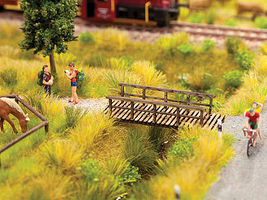 Noch Small Footbridge N Scale Model Railroad Bridge #14620