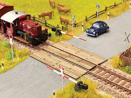 Noch Wooden Plank Crossing N Scale Model Railroad Accessory #14624