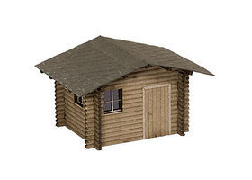 Noch Forest Lodge Kit N Scale Model Railroad Building #14634