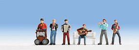 Noch Street Musicians HO Scale Model Railroad Figure #15563