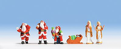 Noch 15920 Christmas Figures 6// H0 Scale  Figures