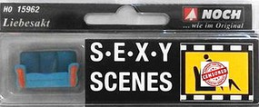 Noch HO Sexy Scenes- Lovers in Action on Love Seat