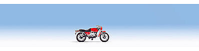 Noch GMBH & Co. Moto Guzzi 850 Le Mans Motorcycle -- HO Scale Model Railroad Vehicle -- #16444
