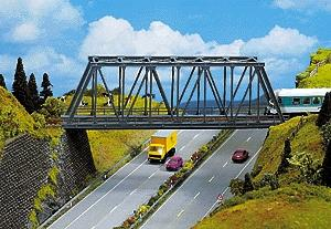 Noch Thru Truss Bridge HO Scale Model Railroad Bridge #21320