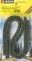 Noch Dark Green Hedges (2) Model Railroad Grass Earth #21514