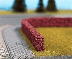 Noch Dark Red Hedges 50cm Long (2) Model Railroad Scenery #21516