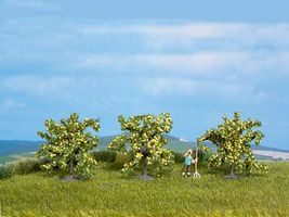 Noch Lemon Trees 4cm pkg(3) Model Railroad Tree #25115