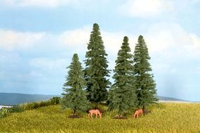Noch Fir Trees 4-8cm (4) Model Railroad Tree #25432