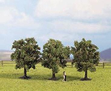 Noch Apple Trees 4.5cm (3) Model Railroad Tree #25513
