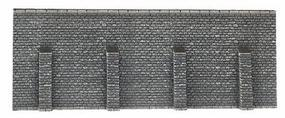 Noch Gray Brick Retaining Wall 19.8 x 7.4cm N Scale Model Railroad Scenery #34856