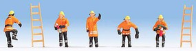 Noch Fire Brigade orange cloth - N-Scale