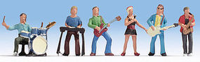 Noch Music Band N Scale Model Railroad Figure #36839