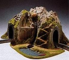 Noch Single Track Curved Tunnel HO Scale Model Railroad Tunnel #5170