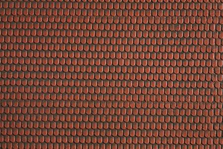 Noch GMBH & Co. Self Adhesive Textured Sheet -- Roofing Tile (red) - HO-Scale