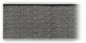 Noch Gray Brick Wall (33.5 x 12.5cm) HO Scale Model Accessory #58054