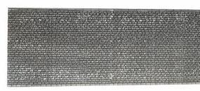 Noch Extra Long Gray Brick Wall (67 x 12.5cm) HO Scale Model Accessory #58055