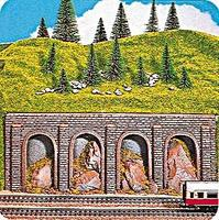 Noch Rock Arcades HO Scale Model Railroad Scenery #58090