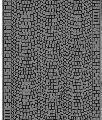 Noch GMBH & Co. Cobblestone Gray Flexible Pavement Sheet -- HO Scale Model Railroad Accessory -- #60722