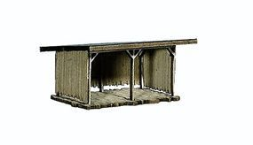 Noch Animal Shelter Scene Kit HO Scale Model Building #65607