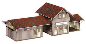 Noch Amtzell Train Station (Laser-Cut Card Kit) HO Scale Model Building #66001