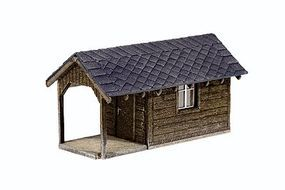 Noch Garden Shed Plot Kit (3) HO Scale Model Building #66804