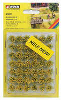 Noch Grass Tufts XL Yellow Blooming Flowers (42) Model Railroad Grass Earth #7026