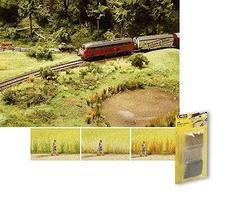 Noch Green/Beige/Brown Reed Assortment (3) Model Railroad Grass Earth #7060