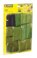 Noch Grass Fiber Assortment (Short) Model Railroad Grass #7066