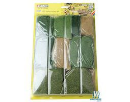 Noch Long Grass Fiber Assortment Model Railroad Grass Earth #7071