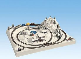 Noch Winter Layout Form (Tannheim) Z Scale Model Layout #87065