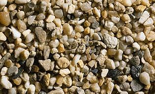 Noch GMBH & Co. Gravel (Beige) Natural Stones (250g) -- Model Railroad Grass Earth -- #9216