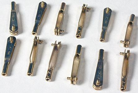 New-Rail Blue Point Turnout Controller Clevis (12) Model Railroad Accessory #40050