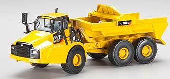 Norscot CAT 740B EJ Articulated Hauler w/Ejector Bod Diecast Model Tractor 1/50 scale #55500