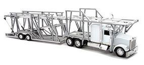 New-Ray Freightliner Classic XL with Double Decker Auto Carrier Diecast Model 1/32 scale #10003