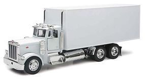 New-Ray Peterbilt 379 Box-Type Delivery Truck Color Will Vary Diecast Model Truck 1/32 scale #10243