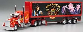New-Ray Elvis Presley The Blue Suede Truck Plastic Model Truck 1/32 scale #10463