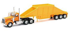 New-Ray 1/32 Kenworth W900 w/Belly Dump Trailer (Die Cast)
