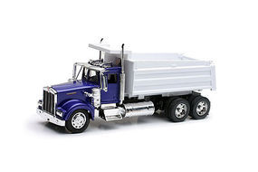 New-Ray Kenworth W900 Dump Truck (Die Cast) Diecast Model Truck 1/32 Scale #10533