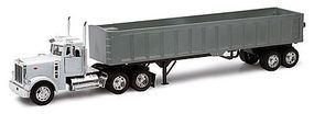 New-Ray Peterbilt 379 w/Framelless Dump Trailer Diecast Model Truck 1/32 scale #10543
