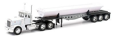 New Ray Toys Peterbilt 379 w/Side Dump Trailer -- Diecast Model Truck -- 1/32 scale -- #10553