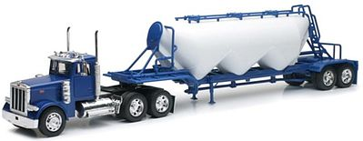 New Ray Toys 1/32 Peterbilt 379 w/Pneumatic Dry Bulk Trailer (Die Cast) (replaces 13863)