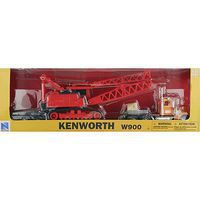 New-Ray 1/32 Kenworth W900 Lowboy w/Crane